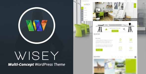 Wisey - High Performance WordPress Theme - Business Corporate