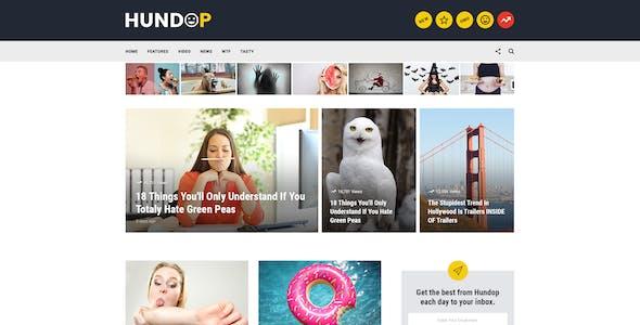 Hundop - Viral & Buzz PSD Template