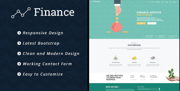 Finance - Consulting Business HTML5 Template