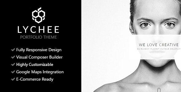 Lychee - Clean Multi-Purpose Portfolio Theme - Portfolio Creative