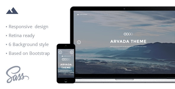 Arvada — Creative Coming Soon & Maintenance Mode Template - Specialty Pages Site Templates