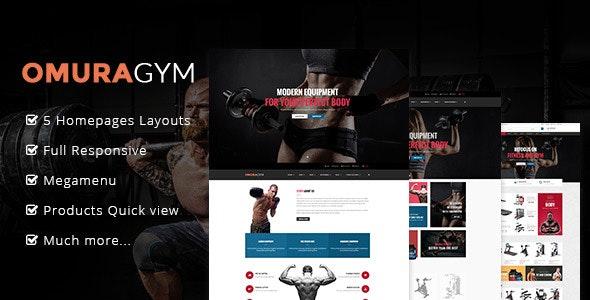 Ap Omuragym Shopify Theme - Health & Beauty Shopify