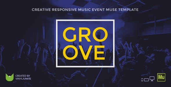 Download Groove - Music Event / Party / Festival Responsive Muse Template