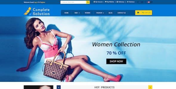 Complete Solution - Multipurpose E-Commerce PSD Template