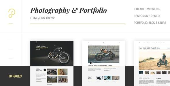 P Dojo - Photography & Portfolio HTEML/CSS Template