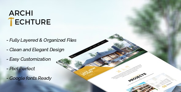 Portfolio, Creative, Template - Architecture - Business Corporate