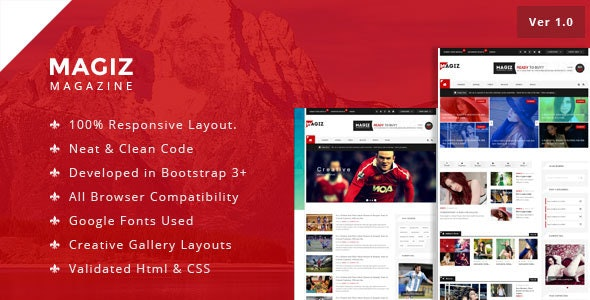 Magiz HTML Template - Miscellaneous Site Templates