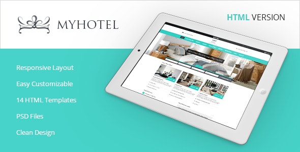 My Hotel - Online Booking Template - Travel Retail