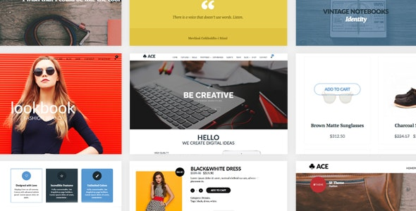 ACE - Responsive, Multi-Purpose, Retina Ready Theme - Corporate WordPress