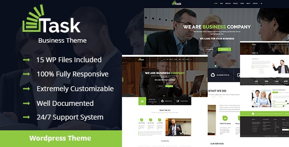 Task - Business & Corporate WordPress Theme! - Business Corporate