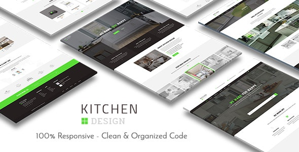 Kitchen - HTML Responsive Template - Business Corporate