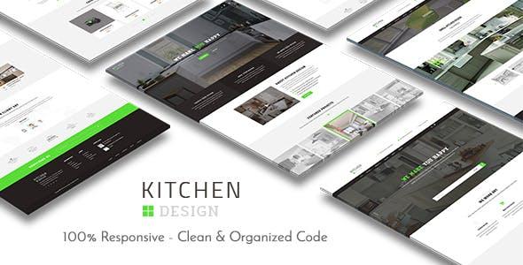 Kitchen - HTML Responsive Template