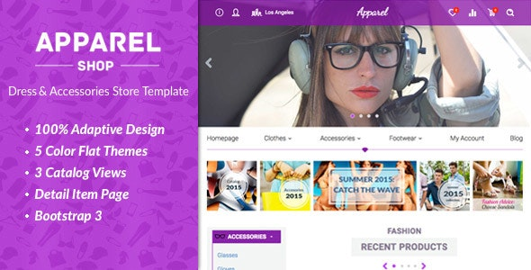 Apparel – Clothes and Accessories WooComerce Theme - WooCommerce eCommerce