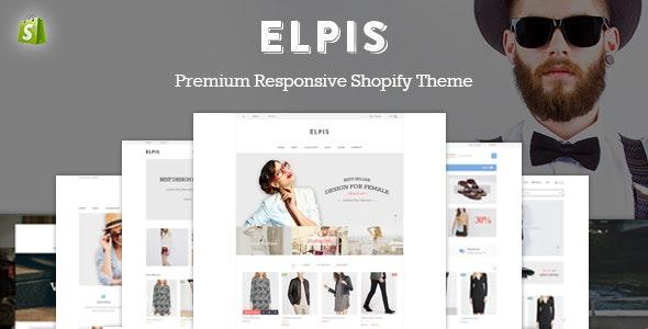 JMS Elpis - Responsive Shopify Theme - Fashion Shopify