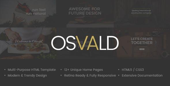 Osvald - HTML Responsive Multi-Purpose Template