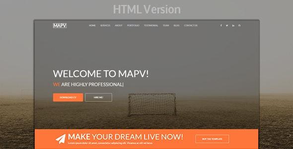 MAPV - Responsive Portfolio Template - Portfolio Creative