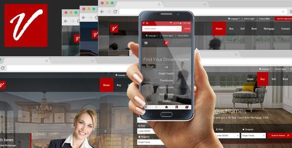 Vine Realtor HTML Template - Business Corporate