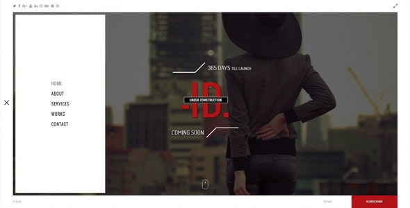 ID || Premium Under Construction Template - Under Construction Specialty Pages