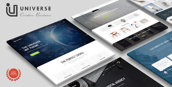Universe - Responsive MultiPurpose Creative Business WordPress Theme - Business Corporate