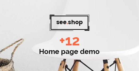 See.Shop | PSD Template - Retail PSD Templates