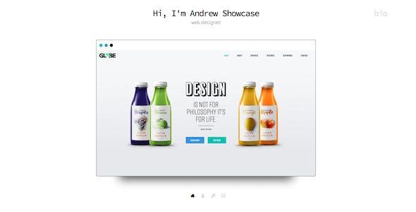 Showcase - Muse Portfolio Template - Responsive