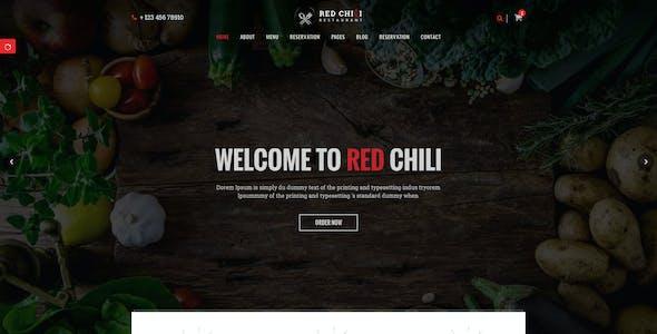 Red Chili - Restaurant HTML5 Template