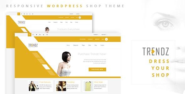 Trendz - WooCommerce Shopping WordPress Theme - WooCommerce eCommerce