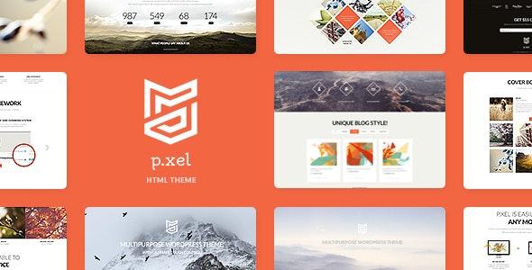 Pixel | Multipurpose Site Template - Corporate Site Templates