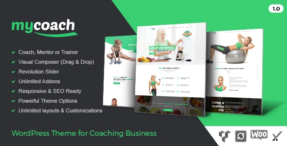 My Coach - Life Coach WordPress Theme - Health & Beauty Retail