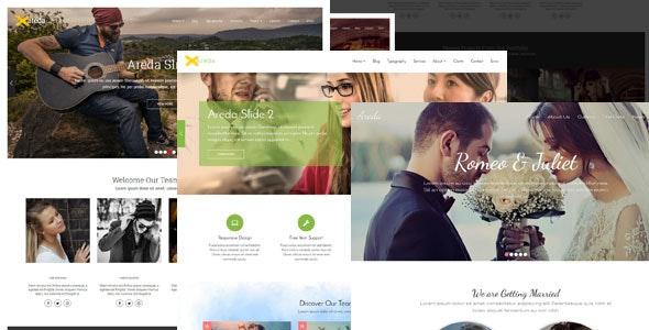 Areda - Responsive Multipurpose Blogger Template - Blogger Blogging