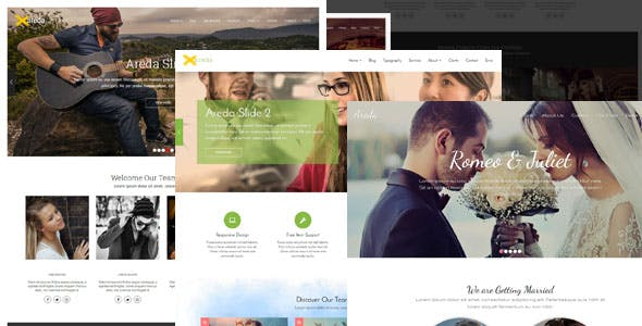 Areda - Responsive Multipurpose Blogger Template