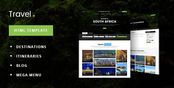 TravelDot - Travel/Tour/Booking HTML Template - Travel Retail