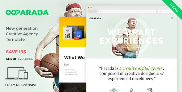 Parada   Creative Agency Template