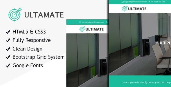 Ultimate multiple purpose HTML responsive site template