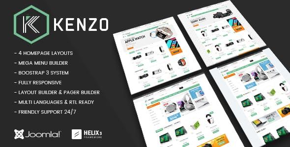 Vina Kenzo - Responsive VirtueMart Joomla Template