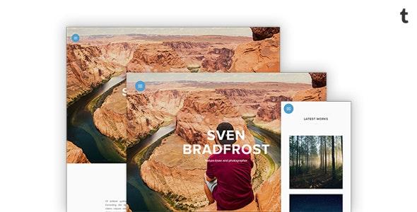 Sven Tumblr Portfolio Theme - Portfolio Tumblr