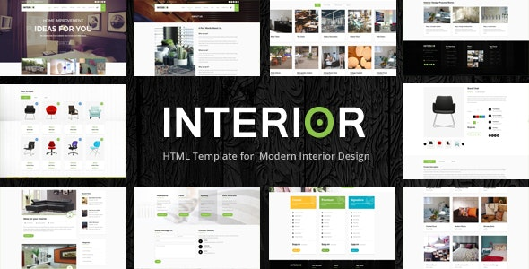 Interior - Responsive Website Template - Portfolio Creative