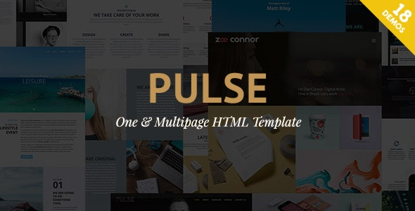 Pulse - Premier HTML Template - Business Corporate