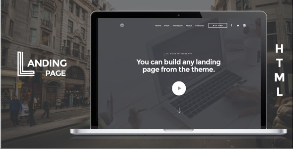 Mobile App Landing Page HTML Template - Landing Pages Marketing