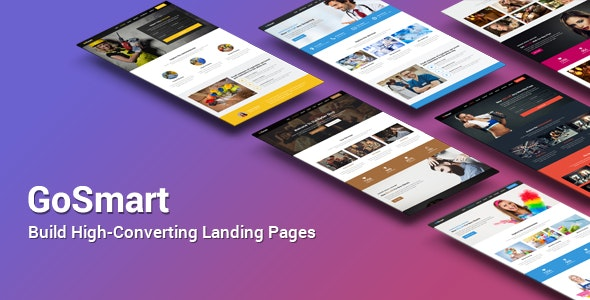 GoSmart High-Converting Landing Page HTML Template - Business Corporate