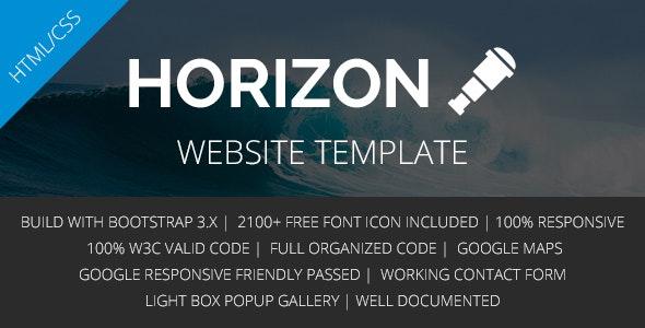 Horizon - Corporate Business Multipurpose Template - Corporate Site Templates