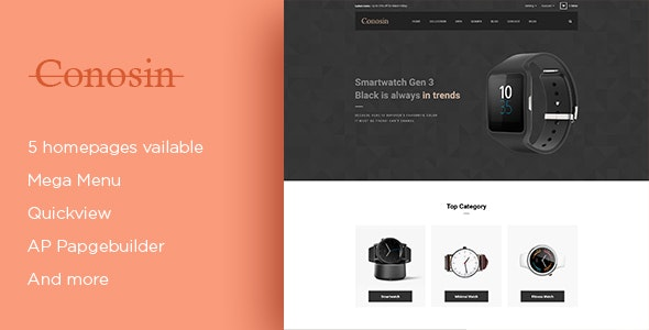 Leo Conosin Responsive Prestashop 1 7 6 Theme for Luxury