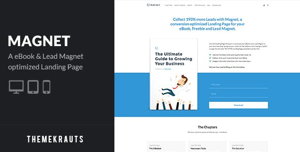 Ebook Download Templates from ThemeForest