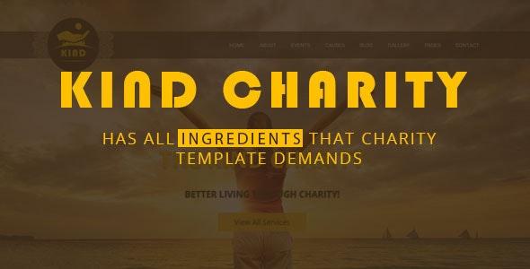 Kind NGO & Charity HTML Template - Charity Nonprofit