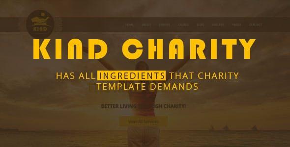 Kind NGO & Charity HTML Template