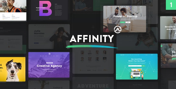 Affinity - Multipurpose WordPress Theme - Business Corporate