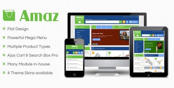 SM Amaz - Premium Responsive Magento Theme - Magento eCommerce