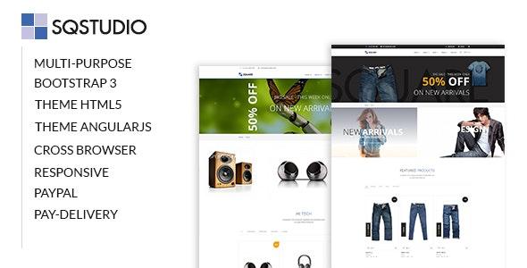 SQSTUDIO - Multipurpose Template - Corporate Site Templates