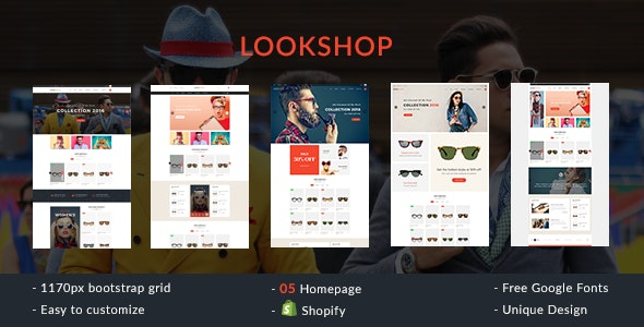 Lookshop - Shopify Responsive Theme - Fashion Shopify
