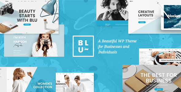 Blu - A Beautiful Business Theme for Agencies and Individuals - Business Corporate